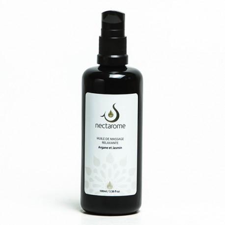Масло массажное релаксирующее аргания + жасмин   Nectarom