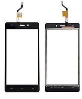 Тачскрин (сенсор) Doogee X5, X5 Pro дуги, цвет черный