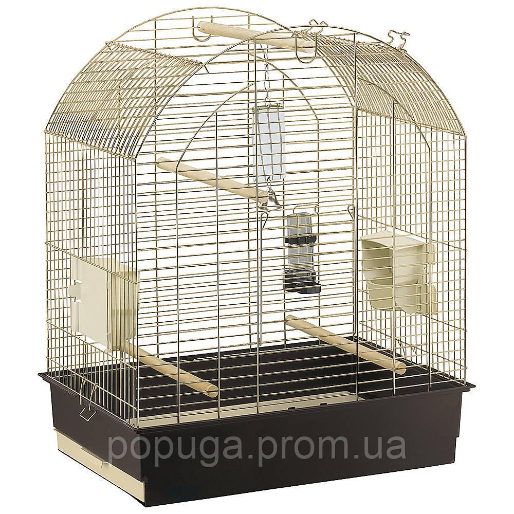 Клетка для крупного попугая GRETA, латунь, 69,5 x 44,5 x h84 см