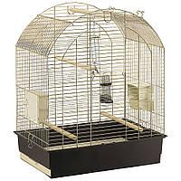 Клетка для крупного попугая GRETA Antique Brass ,Gold