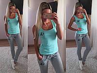 Костюм cK майка футболка + штаны лосины