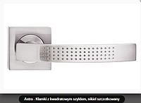 Дверная ручка Metal-bud  Astra  никель сатин