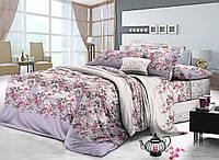 Семейный комплект постельного белья сатин (7815) TM KRISPOL Украина