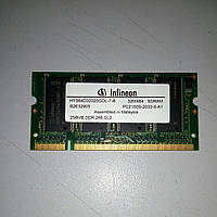 SODIMM DDR1 256Mb 266 MGz Infineon