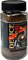 Растворимый кофе Delice Instant Blend Mild&light 100гр,Венгрия