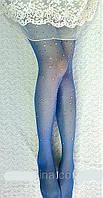 Leg Secret оригинальные колготки со стразами Blue Shine