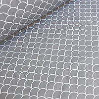Хлопковая ткань в виде серой чешуи