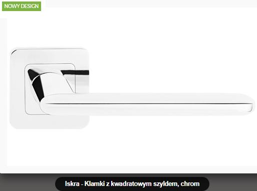 Дверная ручка Metal-bud Iskra хром