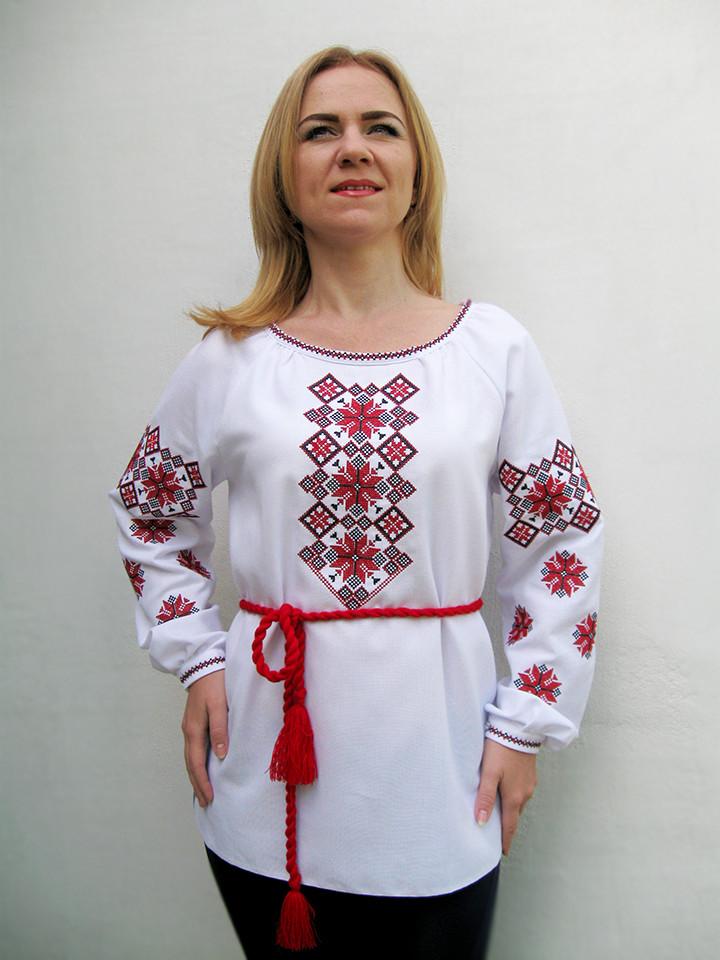 Эксклюзивная женская вышиванка Наталка