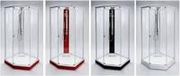 Стеклянные перегородки для душевых кабин, фото 1