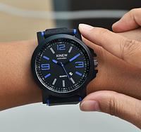 Мужские аналоговые часы часы с крупным циферблатом