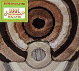 """Набір килимків з 3-х штук """"Confetti"""" в ванну 100х60 див., туалет 50х60 см з вирізом і 50х60 см БЕЗ вирізу, фото 4"""