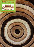"""Набір килимків з 3-х штук """"Confetti"""" в ванну 100х60 див., туалет 50х60 см з вирізом і 50х60 см БЕЗ вирізу, фото 5"""