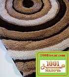"""Набір килимків з 3-х штук """"Confetti"""" в ванну 100х60 див., туалет 50х60 см з вирізом і 50х60 см БЕЗ вирізу, фото 6"""