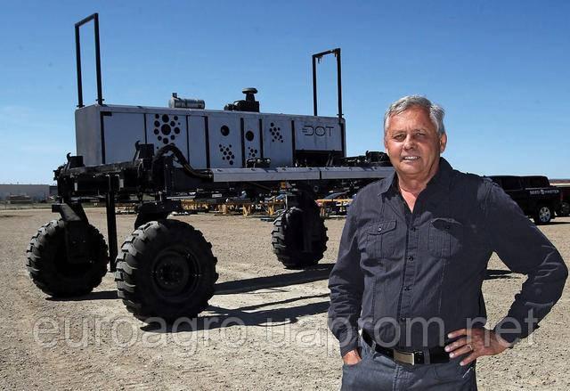 Беспилотная замена трактору