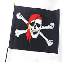 Пиратский флаг 30х45см