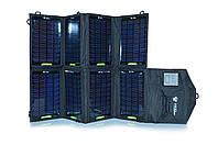Портативная солнечная батарея Bratfishing 28 W / USB 5.5V×1900mA