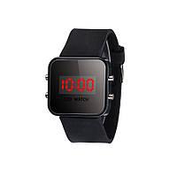 LED Watch, светодиодные цифровые часы.