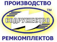Ремкомплект гидроцилиндра подъёма кузова (3-х штоковый) с пластикатом, МАЗ-5516, -503