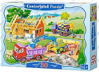 """Пазлы Castorland """"Строим дом"""" (30 эл.)"""