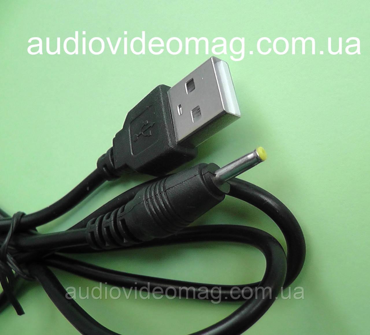 Кабель USB для планшета, штекер 2.5-0.7 мм
