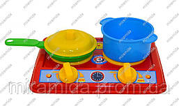 Плита с посудой «Галинка 2»