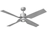 Потолочный вентилятор TAU 122 см + пульт
