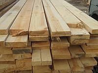 Доска деревянная обрезная сосна 30х100х4, 4,5, 6 м