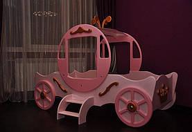 Кровать детская для девочки карета