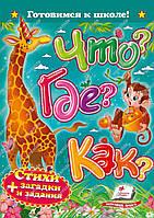 Книга детская Что Где Как