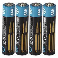 Батарейка Logic Power  AAА R3P 4 шт вак для фото видео аудио и переферии высокий уровень выносливости заряда