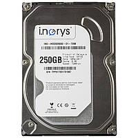 Жесткий диск i.norys 250 GB 7200 rpm 8 MB (INO-IHDD0250S2-D1-7208) HDD SATA носитель винчестер для компьютера