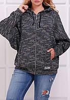 ПП Украина Куртка большого размера с капюшоном ЛУККИ  от 54 до 60 размера
