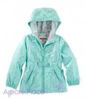 OshKosh Куртка-ветровка на девочку, Мята в сердечко