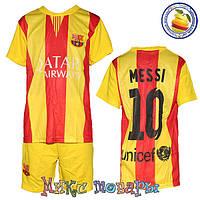Форма для футбола Барселона для мальчиков Размеры: от 6 до 10 лет