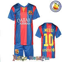 Футбольная форма луба Барса Размеры: от 6 до 10 лет