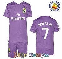 Футбольная форма для детей Рональдо № 7 Размеры: от 6 до 10 лет