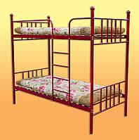 Кровать разборная одинарная 2-ярусная с матрасом.(1900х900) мм