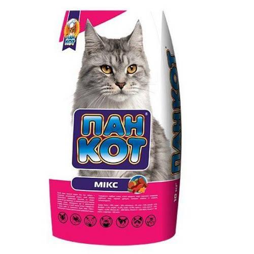ХТЗ Пан Кот Микс, корм для кошек 10кг, фото 2
