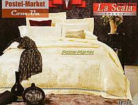 La Scala JP-01 шелковый жаккард (Семейный 160*220)