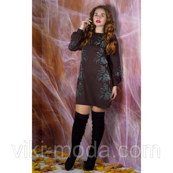 Платье Дольче (коричневый)