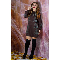 Сукня Дольче (коричневий)
