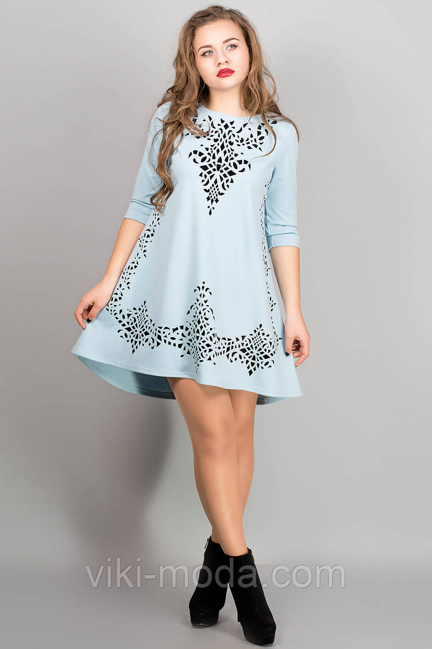 Платье Джейн (голубой)