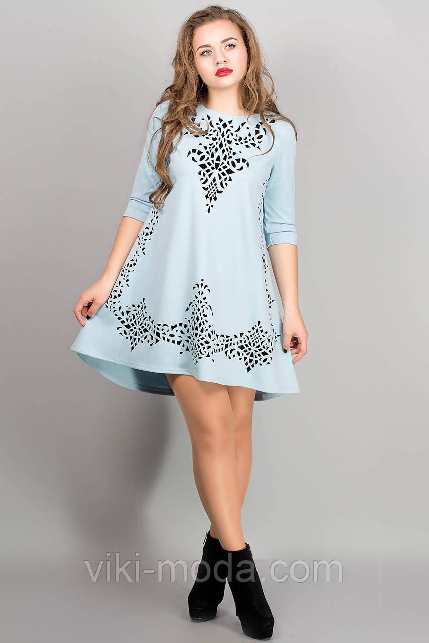 Платье Джейн (голубой), фото 1