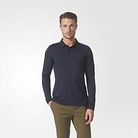Мужская рубашка-поло с длинным рукавом adidas Porsche Design Piqué BQ5391 - 2017/2