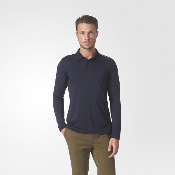 Мужская рубашка-поло с длинным рукавом adidas Porsche Design Piqué BQ5391 - Интернет магазин Tip - все типы товаров в Киеве