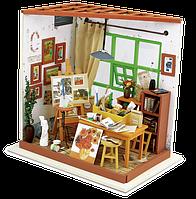 Robotime Набор для творчества Мини-интерьерная модель «Мастерская художника»