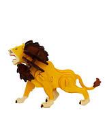 Robotime Деревянный 3D пазл раскраска «Лев»
