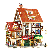 Robotime Деревянный 3D домик конструктор «Кафе. Франция»