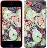 """Чехол на iPhone 5c Букет роз """"2692c-23-4848"""""""